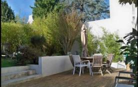 Appartement au rez-de-chaussée d'une maison individuelle avec jouissance exclusive de la terrasse.