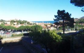 Bel appartement vue sur la baie de Collioure avec un garage