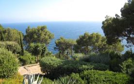 Situation exceptionnelle pour cette petite villa pieds dans l'eau avec une vue panoramique sur le...