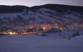 village vue de nuit