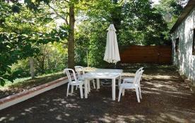 Appartement en rez-de-jardin de la maison du propriétaire avec vue sur la base de loisirs Aquaval...