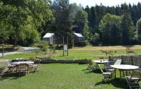 Camping du Mettey****, 66 emplacements, 18 locatifs