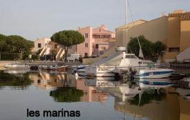 La Coudalère, le quartier des marinas en bordure du lac marin.