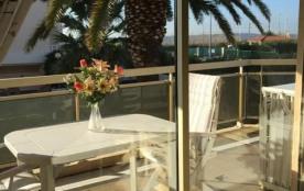 Juan Les Pins(06) - Bijou Plage- Résidence Amaryllis. Appartement T2 – 46 m² - jusqu'à 4 personnes.