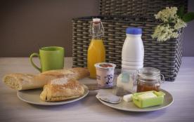 """le panier """" petit-déjeuner"""" - 7€/pers."""
