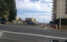 l'accès à la plage devant la résidence