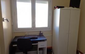 chambre 2, lit 140 cm