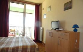 Appartement studio de 22 m² environ pour 2 personnes située à 2 pas de la plage et des nombreuses...