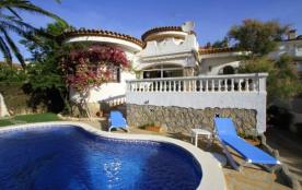 B36 CORAL villa con piscina privada y jardín