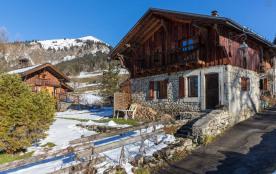 Adorable petite maison de montagne pour 6-8 personnes à Samoëns: le Hameau de Chantemerle