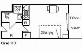 Appartement 2 pièces 5 personnes (J14)