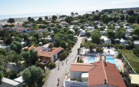 Camping Antioche d'Oléron, 45 emplacements, 45 locatifs