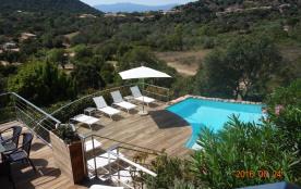 Grande villa de caractère avec piscine chauffée et privée près des plus belles plages de la Corse du Sud