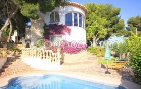 Cette villa avec vue Mer sur la Costa Blanca pou