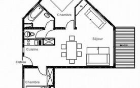 Appartement 3 pièces 6 personnes (A10)