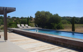 Villa 8 pers, calme, beau terrain, piscine privée