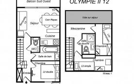 Appartement duplex 4 pièces 6 personnes (12)