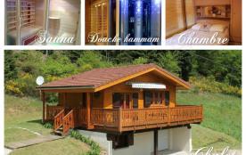 Chalet Vosges Gerardmer /sauna hammam /sans vis à vis