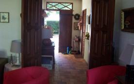 Hall d'entrée vue du salon