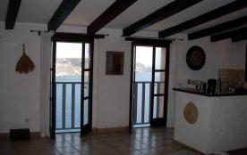 Appartement, 2 chambres, avec vue exceptionnelle sur les falaises de Bonifacio, la mer et la Sard...