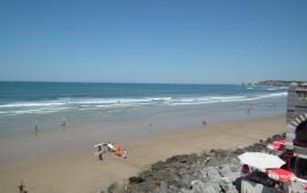Appart situé directement sur la plage d'Hendaye