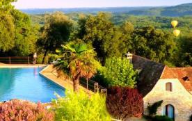 SARLAT, Gite de charme (15 pers.) vue sur vallée de la DORDOGNE - Sarlat-la-Canéda