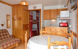 Appartement 1 pièce de 23 m² environ pour 4 personnes situé à 1 km du village et des commerces, e...