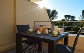 Appartement studio de 24 m² environ pour 4 personnes, cette location de studio de vacances sur la...
