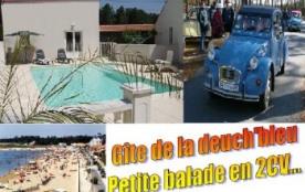 Location avec piscine chauffée, région Oléron - Marennes