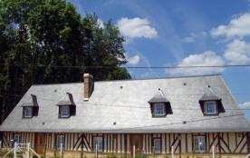 Gîtes de France Gîte du Petit Boisney. Une normande traditionnelle qui affiche ses pans de bois e...