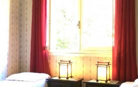 Chambre avec vue sur le bois