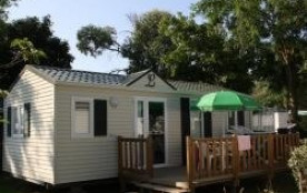 Camping La Davière Plage - Mobil Home Terrasse Bois