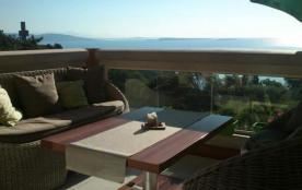 Appartement vue mer panoramique