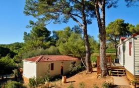 Camping Résidentiel La Pinède - Mobil-home Pacifique 2 chambres 24m²