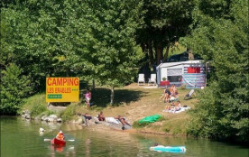Camping LES ERABLES, 78 emplacements, 6 locatifs