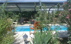 Gite avec piscine couverte et chauffée vers Anduze