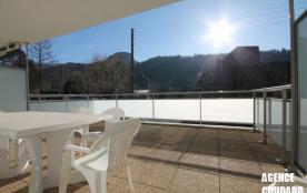 LE MONT DORE - Beau T3, terrasse, wifi.