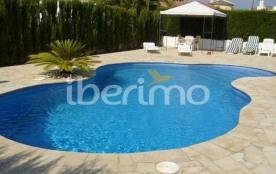 IB-3192 - Agréable villa avec piscine privée (8x5) pour 10 personnes située dans le quartier tran...