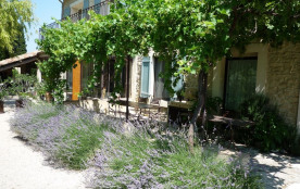 Ferme en Provence Mas de charme entier privé piscine chauffée 6 à 14 personnes