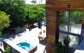 Villa d archi proche océan bassin presqu'île cap ferret piscine chauffée et spa