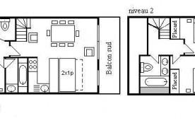 Appartement duplex 4 pièces 8 personnes (9)