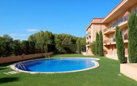 GOLF MAR : Appartement confortable et pratique situé dans une belle résidence avec piscine commun...
