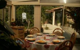 veranda et son coin repas