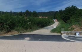 Le chemin de la propriété sur la RD 15