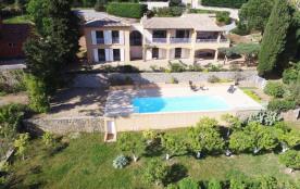 Très belle villa avec piscine privée Vue mer panoramique Plages à pied Sainte-Maxime