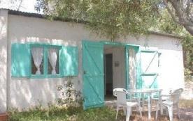 Maisonnette 32m², avec terrasse et mobilier de jardin, dans une grande propriété, à 50m de la pla...