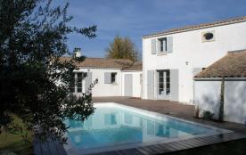 Ile d'Oléron - Villa de charme avec piscine, proche de la plage