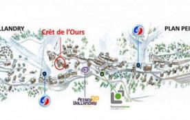CRET DE L'OURS - Vallandry-Plan Peisey