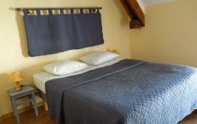 Chambre 1 avec lit 160 cm
