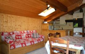 Le Grand Bornand 74 - Le Chinaillon - Résidence Perralpes. Appartement 2 pièces cabine de 43 m² e...